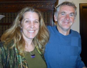 Cynthia Sue Larson with Seán Ó Nualláin