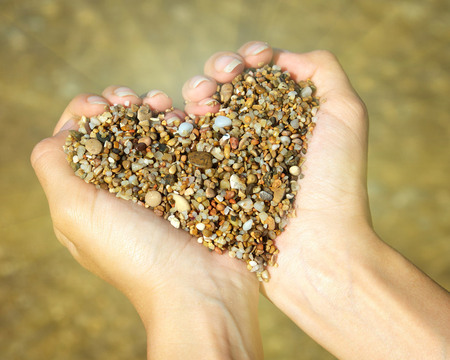 pebbles of love