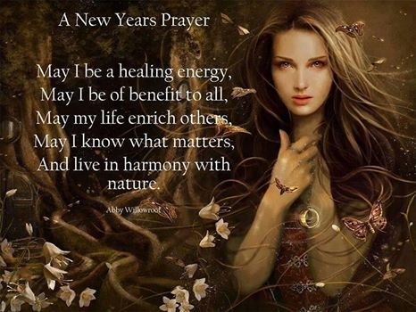 New Years Prayer