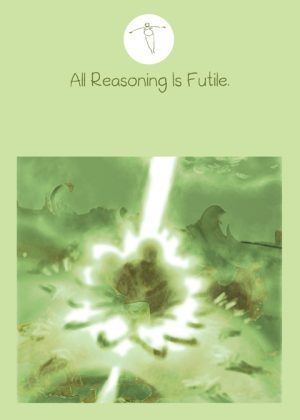 blurred abstract image of a meditator sitting on a lotus flower with a beam of light shooting through his body